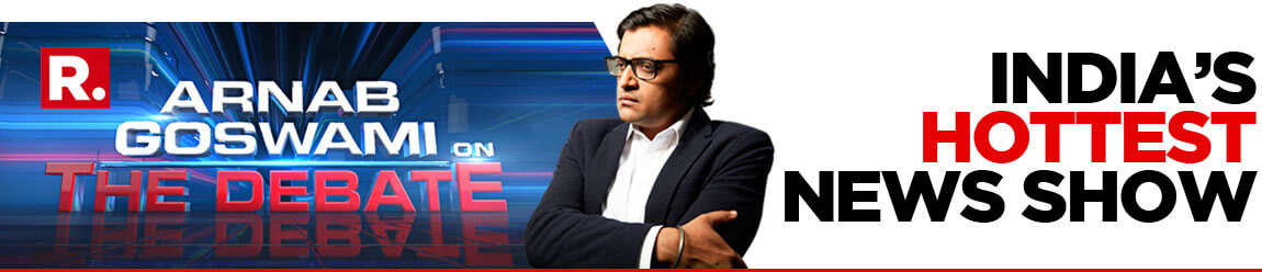 Arnab Goswami on The Debate